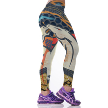 Woman Yoga Pants Fitness Fiber Sport Leggings Denver Broncos Sports Tights Trousers Exercise Training Gym Clothing Sportswear(China)