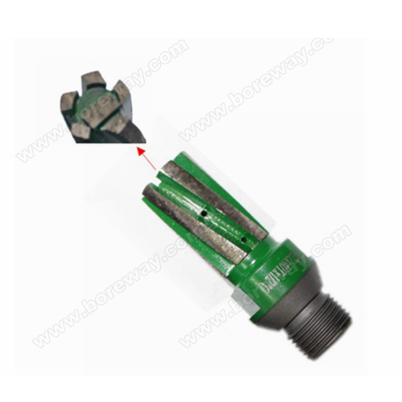 Supply CNC segment finger cutter bit with water hole in bottom and side for granite counter D22*40T*1/2G<br><br>Aliexpress