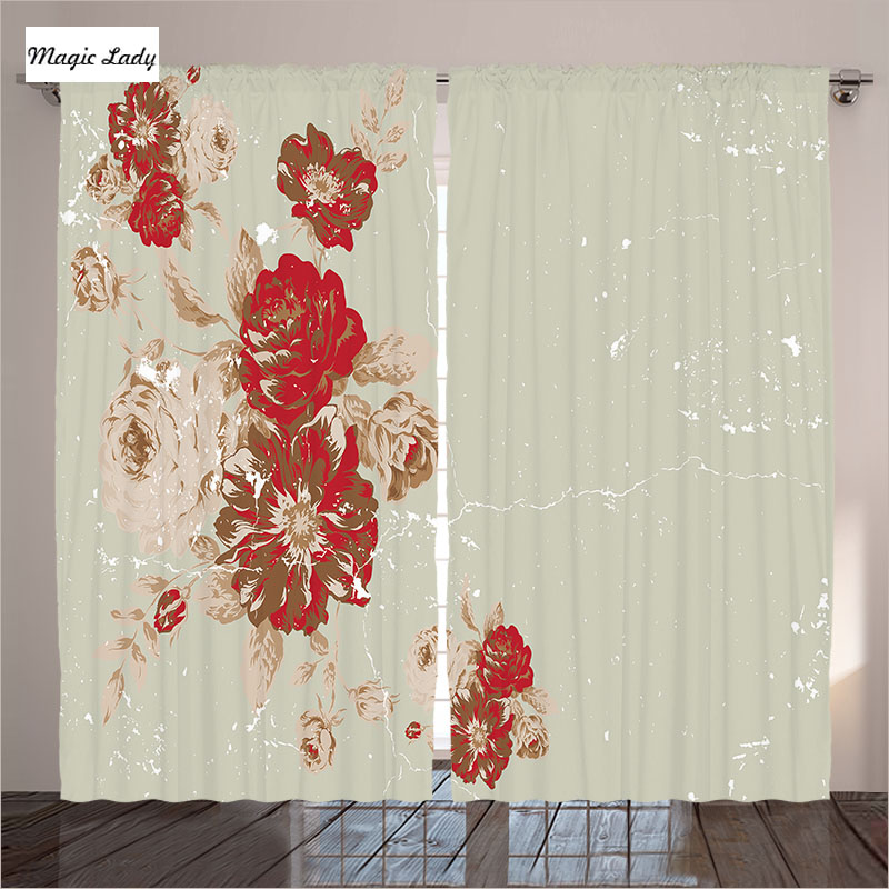 Curtains for a bedroom