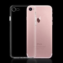 100pcs/lot Full Camera Protection Soft Tpu Case Cover  For iPhone 7 7 Plus with dustproof plug design