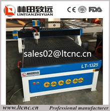 Jinan factory high technology vacuum table cnc wood working router, 1325 cnc wood cutting machine price