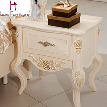 French Continental Bedside Table bedside cabinet storage cabinet one pumping storage