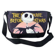 Cool Polyester shoulder bag printed with Jack Skellington of The Nightmare Before Christmas Type A