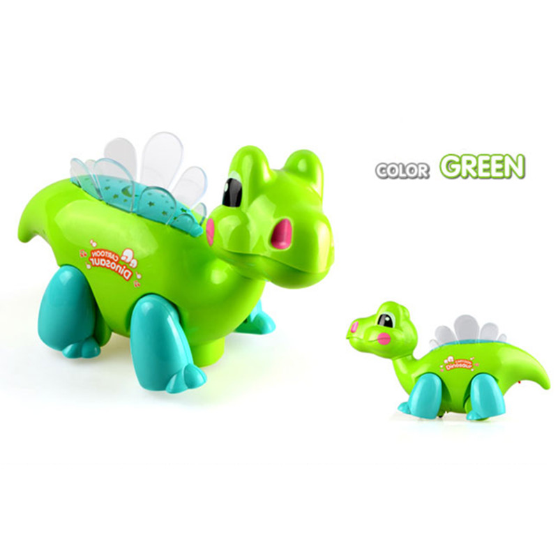 Electric Toy Walking Robot Dinosaur Action Figure Toy, Plastic Dinosaurs With Light &amp; Sound Figure Model, Kids Toys / Brinquedos<br><br>Aliexpress