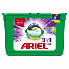 Washing Powder Capsules Ariel Capsules 3in1 Color (15 Tablets) Laundry Powder For Washing Machine Laundry Detergent