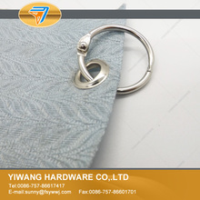 Promotion Price 10pcs/package Metal Loose Leaf Book Binder Hinged Rings Keychain Album Scrapbook Craft  25mm wholesale