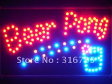 led094-r Beer Pong Get Your Ball Wet Led Neon Bar Sign Wholesale Dropshipping