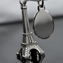 Paris Eiffel Tower Keychain Novelty Items Innovative Gadget Trinket Souvenir Christmas Gift Keyring Drop Shipping HG-0701