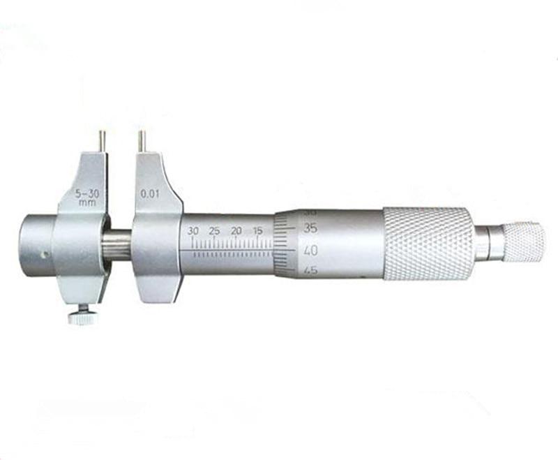 Measurable precision hole diameter is 0.01 mm parts of 5-30 mm inside diameter micrometer measuring vernier micrometer<br>
