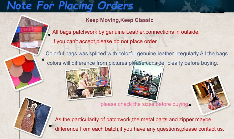 note before place order english