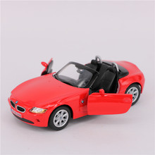 KINSMART 1:32 12cm Alloy Convertible Cars Model, Pull Back Diecast Metal Vehicles Car Toy, Educational Red Cars Model Kids Toys(China)