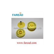 ISO11784/85 visual ear tag LF Passive RFID  electronic tag for livestock management