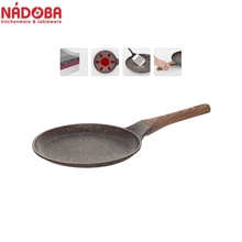 Heat-resistant non-stick coating 24 cm NADOBA series GRETA
