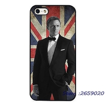 007 James Bond Daniel Craig British mobile phone cover case for iPhone 5 6S Plus 7 7Plus Samsung Galaxy S4 S5 S6 S7 edge