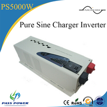 dc to ac home 5kw solar pump power inverter 24v48v 220v 5000w low frequency inverter with charger