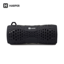 HARPER PS-045 Bluetooth Speaker Portable Speaker Mini Included Speaker Wireless Bluetooth 2.1 with AUX Hand Free Black Color