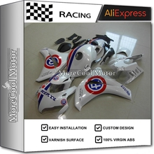 Excellent Fairing Kits For Honda CBR1000RR 2008-2011 Motorcycle Cowling Body Kit REPSOL White