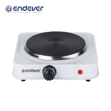 Endever Skyline EP-17 W 1500W Electric Hot Plate for Cooking Tem. 70-5000 Degrees Safe & Convenient Metal Kitchen Electric Plate