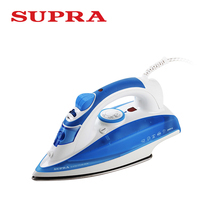 Supra IS-9700 Electric Iron Household Steam Ironing Auto-Shut Off Stainless Steel Coating Steamer for Clothes Non-stick 2000W