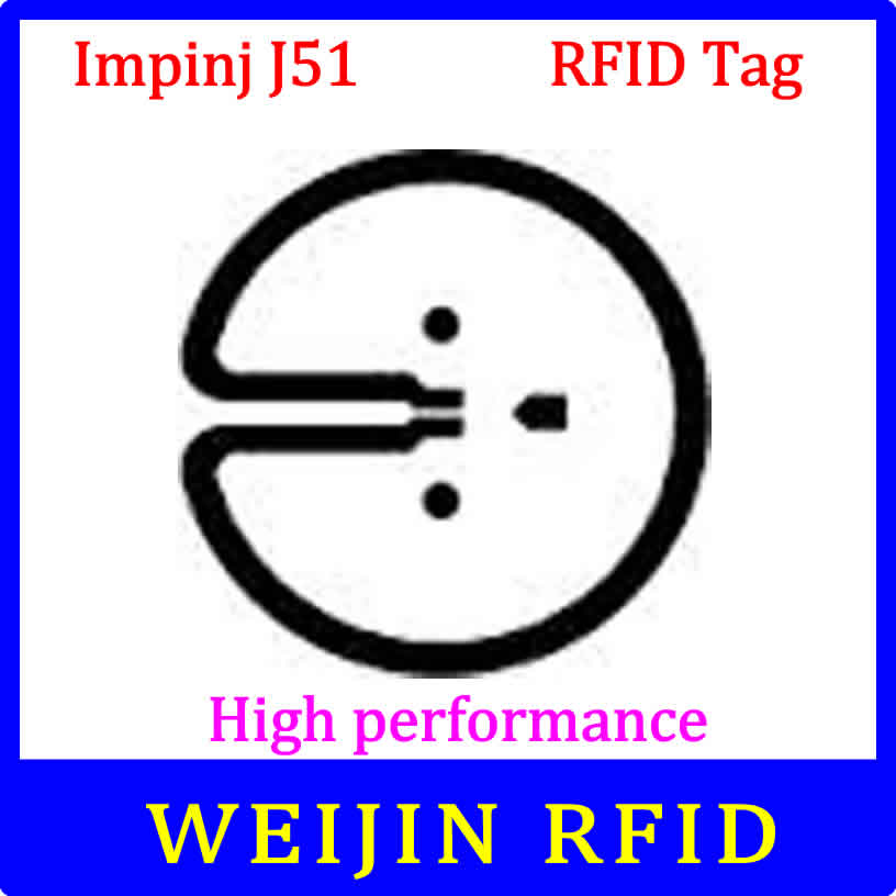 Impinj J51 UHF RFID dry inlay 860-960MHZ 915M EPC  Monza5 C1G2 ISO18000-6C,can be used to RFID tag and label<br><br>Aliexpress