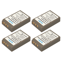 DuraPro 4Pcs PS-BLS5 BLS-5 BLS5 BLS-50 Camera Battery for Olympus PEN E-PL2 E-PL5 E-PL6 E-PL7 E-PM2 OM-D E-M10 II Stylus 1 BLS50