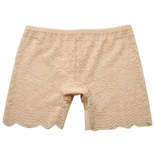 Women Sexy Lace Boxers Shorts Safe Pants Seamless Underpants Underwear 3 Color