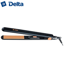 DL-0531 Electric hair straightener crimper iron straightening 35W flat ceramic plates work indicator, 360 degree cord