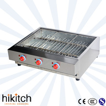 Stainless steel smokeless electric bbq grill/ Business Barbecue