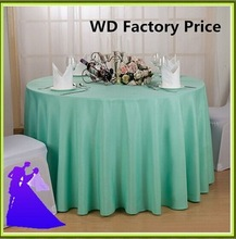 132 inch banquet polyester table cloth cheap for sale free shipping(China)
