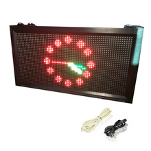 P10 Outdoor Waterproof Full-Color RGB LED Sign 32X64pixels 1/4 scan LAN Programmable Rolling information Led Display Screen kit(China)