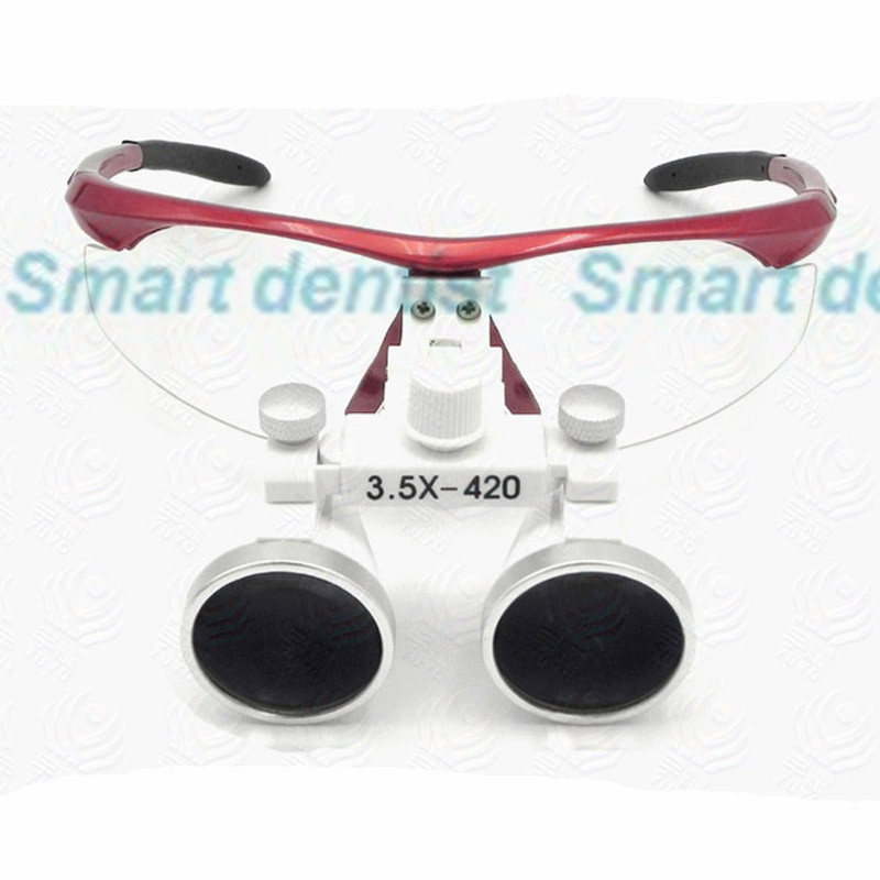 2016  fast shipment 3.5X lens small moq antifog glasses dental dentist loupe surgical magnifier<br>