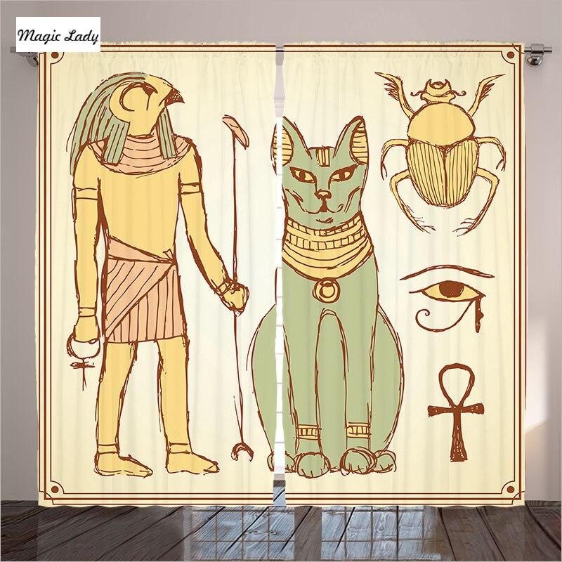 Egyptian bedroom theme