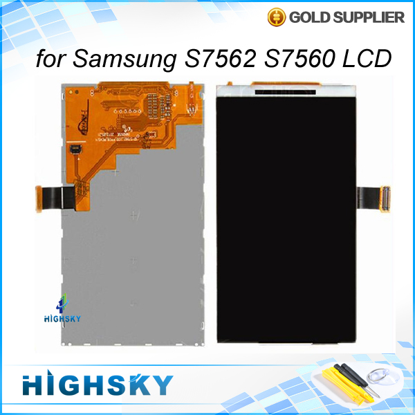 LCD display for Samsung Galaxy Trend Duos S7562 S7560 replacement parts 1piece free shipping + tools<br><br>Aliexpress