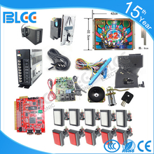 Solt game kits DIY arcade part Bundles with 7 in 1 or 9 in 1 game board coin acceptor buttons harness for casino slot machine