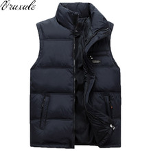 New Mens Jacket Sleeveless veste homme Winter Fashion Casual Coats Male Down Men's Vest Thickening Waistcoat
