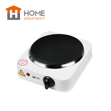 HOME ELEMENT HE-HP704 Electric Hot Plate 1000W Countertop Suitable Different Stove Ship from Russia