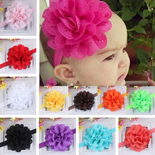 Baby Girls Kids Fashion Hollow Lace Flower Headband Headwear Hair Band Accessory(China)