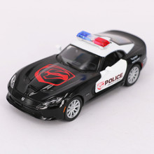 1:36 Scale  Diecast Metal Police Cars Models, 12.5cm Alloy Cars Toy For Collection, Pull Back Police Cars Toys, Kids Toys