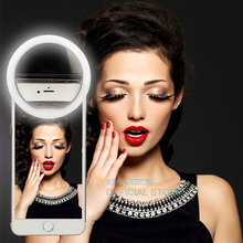 Mobile LED Selfie Ring Cover For Android Smart Phone Flash Light Luminous Case iPhone 5 5C 5s 6 6s 7 Plus LG Samsung S6 S7 edge(China)