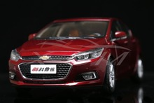 Diecast Car Model Chevrolet New Cruze 2015 1:18 (Red) + SMALL GIFT!!!!!!!!!!