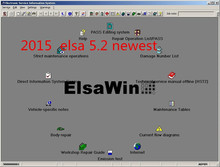 elsawin 5.2 for audi for vw auto software in 80gb hdd 2016 newest auto repair software free shipping