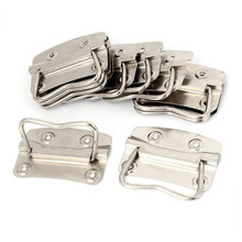 "UXCELL Product Name Metal Flush Mounted Type Box Pulls Tool Chest Trunk Handles 3.5"" Length 10Pcs chest 