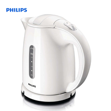 Philips Daily Collection Kettle 1.5 L 2400 W Water level indicator White Hinged lid HD4646/00