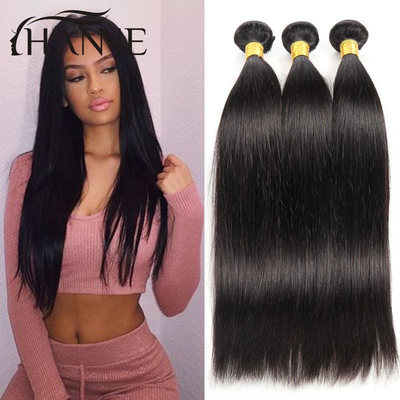 Brazilian virgin hair straight 8-30 inch human hair weaves 3 bundles Brazilian straight hair extension Hanne Colorful Hair<br><br>Aliexpress
