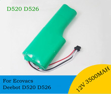 12V 3500mAh NI-MH Replacement Battery pack SC for Ecovacs Deebot D520 D526 sweeper robot t3 T5 Vacuum Cleaner Battery(China)
