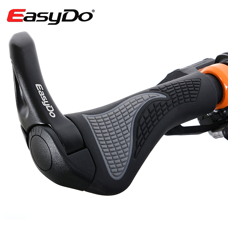 EasyDo Ergonomic Mtb Mountain Bike Grips Bar Ends Handlebar Lock On Bicycle Alluminium Alloy Poignee Vtt Poigne Guidon Velo<br><br>Aliexpress