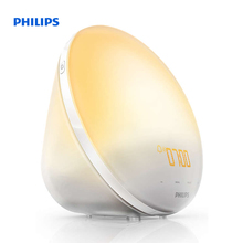 Philips Wake-up Light Sunrise Simulation 3 natural sounds FM radio & Reading lamp HF3510/70