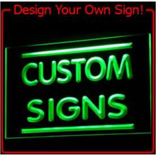 tm Custom LED Neon Light Sign Order (Design your own light) Wholesale Dropshipping On/ Off Switch 7 Colors DHL