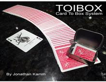 2016 Toibox Card To Box System by Jonathan Kamm magic(China)