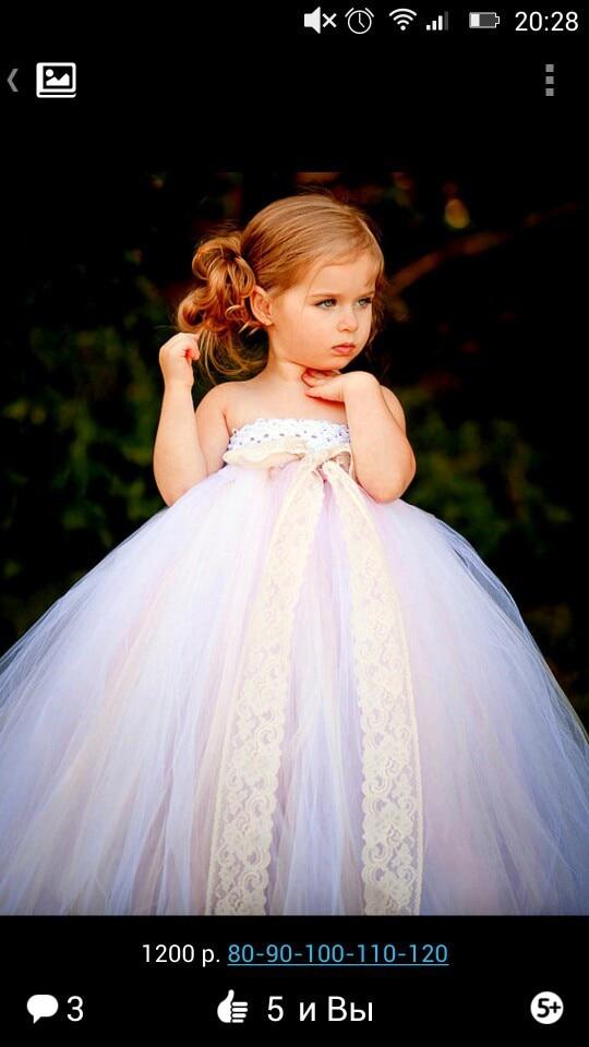 Платье для принцессы фото